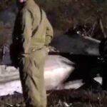 Катастрофа самолета с курсантами под Харьковом: появилось видео потушенного Ан-26