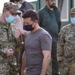 Зеленський поспілкувався з військовими ЗСУ на передовій