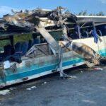 В Калининградской области РФ в ДТП с участием автобуса погибли не менее шести человек