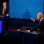 """""""Ты заткнешься?"""" На первых дебатах Байден несколько раз сказал Трампу помолчать. Видео"""