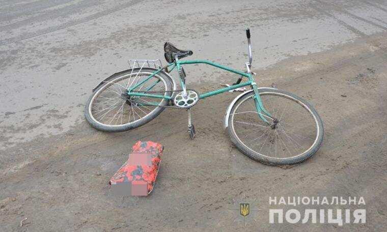 На Волині велосипедист потрапив під колеса авто (ФОТО)