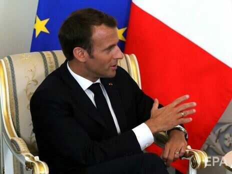 """Макрон заявив про необхідність визначити """"чіткі червоні лінії"""" у відносинах із Росією"""