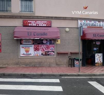 Traspaso – Geschäft Torviscas – Roque del Conde, Adeje