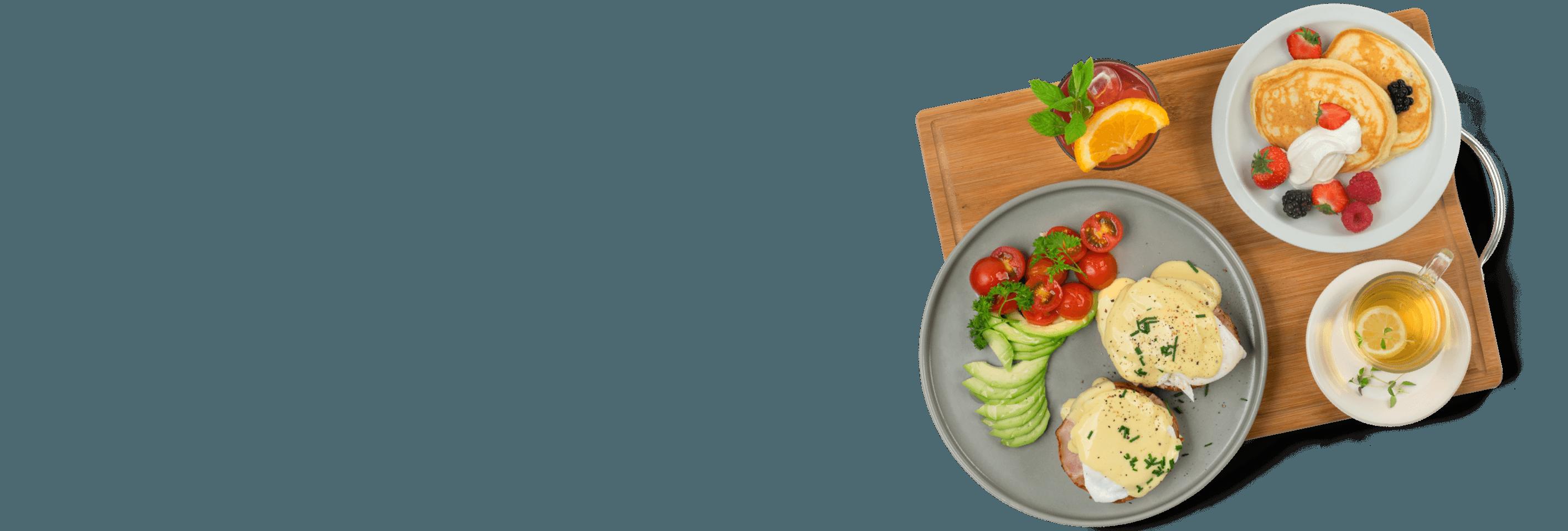 Homelette street food
