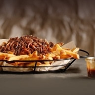 Dirty fries pulled beef