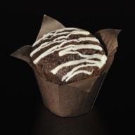 Muffin σοκολάτα με γέμιση κρέμα