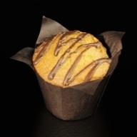 Muffin βανίλια γεμιστό πραλίνα