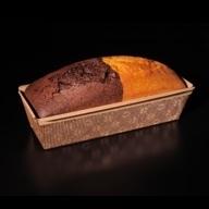 Cake μάρμορ βανίλια - σοκολάτα