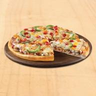 Double Pizza Λαχανικών - Τορτίγια Mozzarella