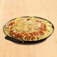 Bolognese Σόγιας Φούρνου με Φυτικό Τυρί