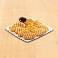 Πατάτες Crosscut με BBQ sauce