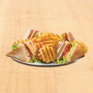 Club Sandwich Ζαμπόν - Μπέικον