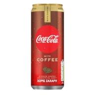 Coca-Cola zero plus coffe 330ml