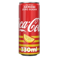 Coca-Cola zero lemon 330ml