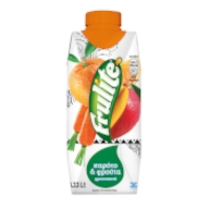Frulite καρότο & φρούτα 330ml