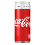 Coca cola light 330 ml