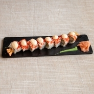 Crazy shrimp roll