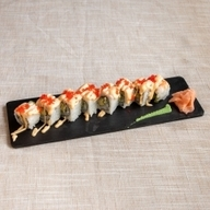 Spicy shrimp roll