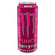 Monster μωβ - Punch Energy 500ml