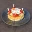 Pancake μοτσαρέλα, μπέικον & αυγό μάτι