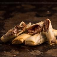 Χειροποίητα γλύκα spring rolls με γνήσια Merenda