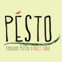 Pesto Italian pizza