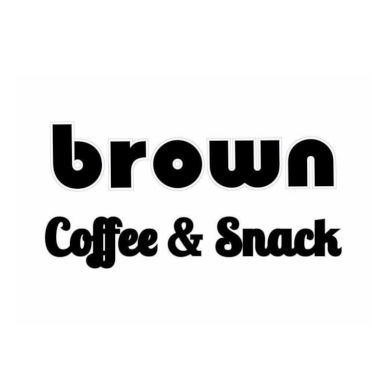 Brown coffee & snack