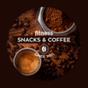 Fitness snacks and coffee