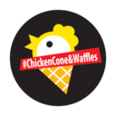 Chicken cone & waffles