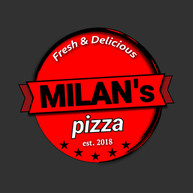MILAN's pizza