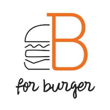 B for burger