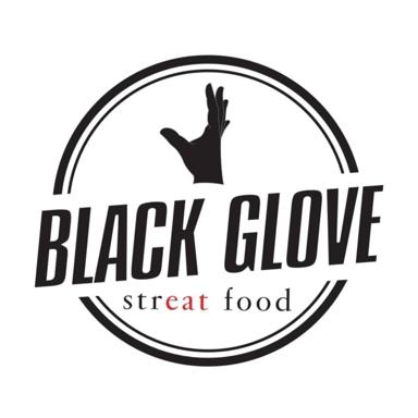 Black glove street food