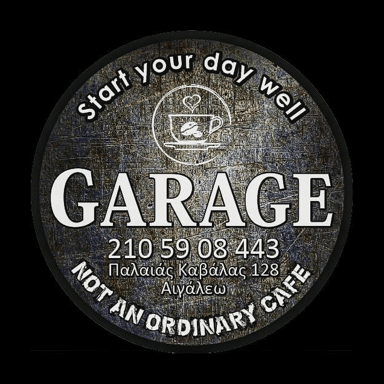 Garage not an ordinary café