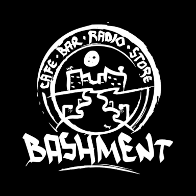 BASHMENT CAFE·BAR·RADIO·STORE