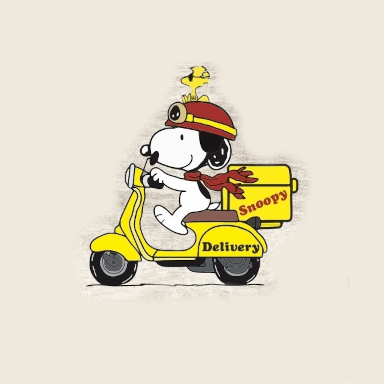 Pizza Snoopy
