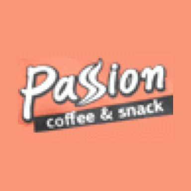 Passion coffee and snack