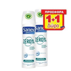 Αποσμητικό SANEX Spray Zero Extra Effective 150ml
