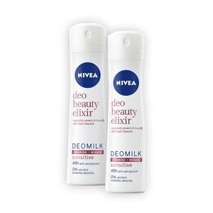 NIVEA Spray Deomilk Sensitive