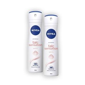 NIVEA Spray Talc Sens.150ml
