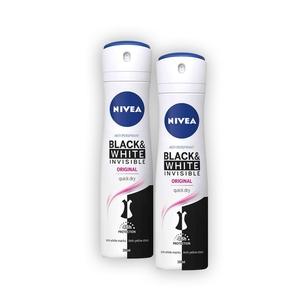 NIVEA Spray Invis. Black&White