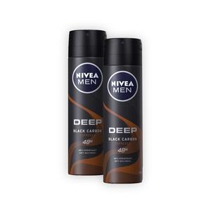 NIVEA MEN Spray Deep Bl.Carbon Espr.