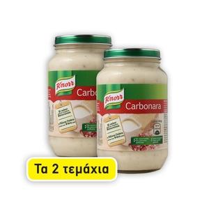 2τεμ.KNORR Καρμπονάρα Σάλτσα 400γρ