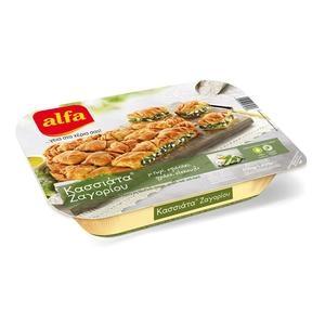ALFA Τυρί.Πράσο.Σπανάκι&Σέσκουλο