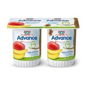 ΔΕΛΤΑ Advance Μπανάνα & Μήλο