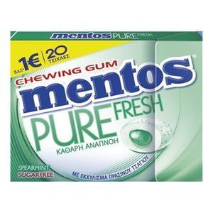 MENTOS Pure Fresh Δυόσμος