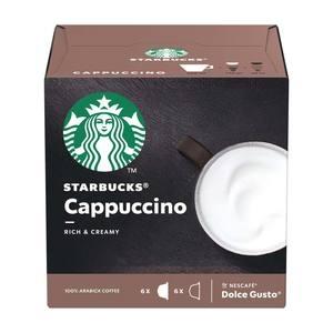 STARBUCKS Cappuccino 6 ροφήματα
