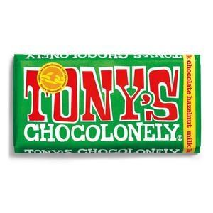 TONY^S CHOCOLONELY Γάλακτος Με Φουντούκι