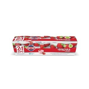 ΚΡΙ ΚΡΙ Φράουλα 1.7% (2+1)Δώρο
