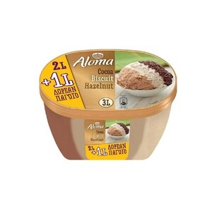ALOMA Cocoa-Biscuit-Hazelnut (2L+1L)