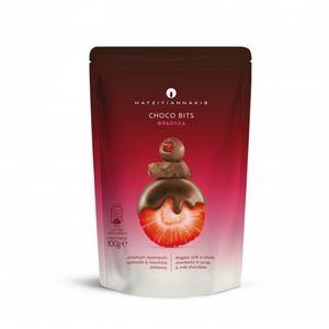 HATZIYIANNAKIS Choco Bits Φράουλα